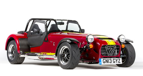Caterham 620R Red