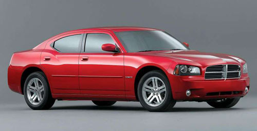Dodge Charger R/T Red