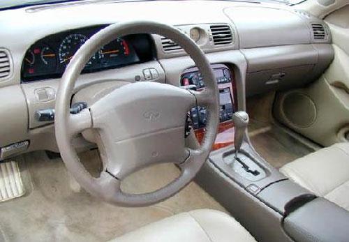 Infiniti J30 Interior Inside Cockpit Console Dash Dashboard