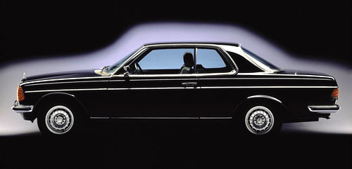 Mercedes Benz W123 Coupe Black