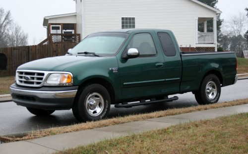1999 Ford F150 Green