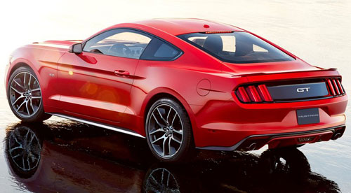 2015 Ford Mustang GT Red