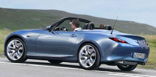 2016 Mazda MX-5 Miata Concept Rendering Blue