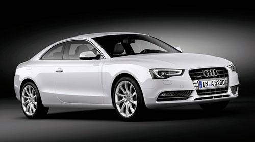 2012 Audi A5 White