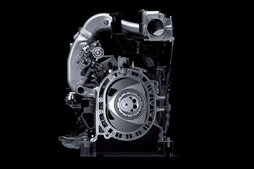 Mazda 16X New Rotary Wankel Engine Motor