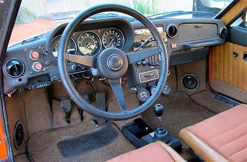 Saab Sonett Sonnet Sonnett Sonet III 3 Dash Cockpit Console Interior Inside