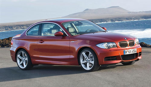 BMW 1-Series 135i Orange Maroon Bronze E82 Coupe
