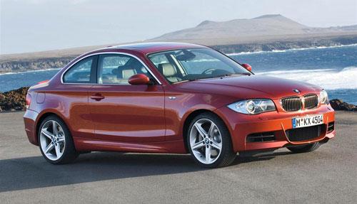 BMW 1-Series 135i Orange Maroon Bronze E82 Coupe
