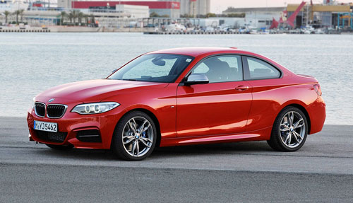 BMW 2-Series Red