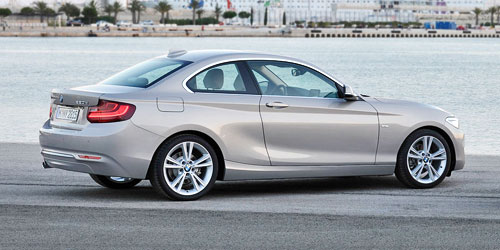 BMW 2-Series White