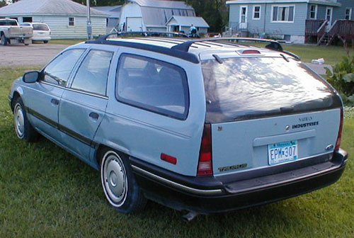 Ford Taurus Station Wagon Rear
