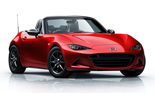 2016 Mazda Miata ND Red