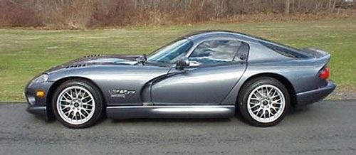 Dodge Viper GTS Gray Grey