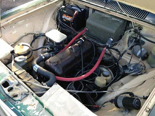 Opel Kadett Engine Motor