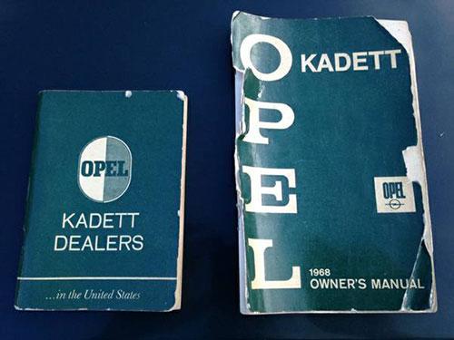 Opel Kadett Literature
