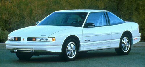 1991 Olds Oldsmobile Cutlass Supreme White