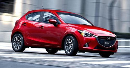 2015 Mazda 2 Demio Red