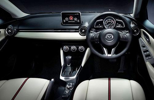 2015 Mazda 2 Demio Interior Inside Cockpit Console