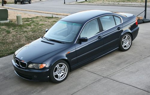 2002 BMW 330i Orient Blue E46 Sedan