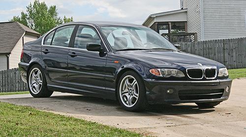 BMW E46 330i 2002 Orient Blue